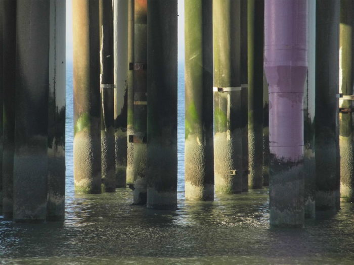 Architectural Column No People Water Architecture Day Reflection Waterfront Outdoors Built Structure Nature Building Pattern