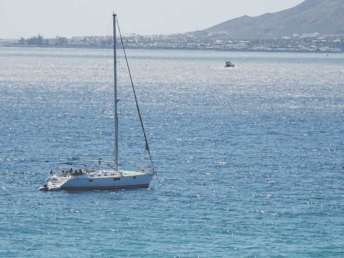 Blue Wave Relaxing Taking Photos Sailing EyeEm Sports Photography Sailing Ship Seasport Sea Breathing Space