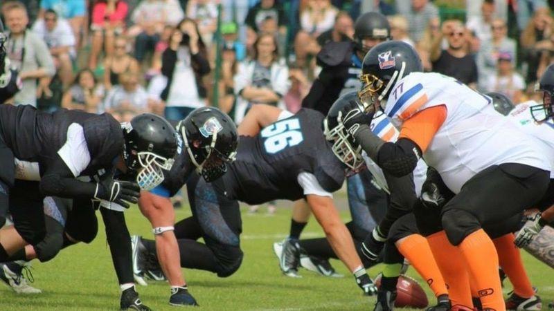 Football American Poland Rhinos Eyeemphoto