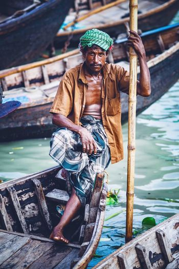 Portrait Portraiture Streetphoto Portrait Of A Man  Streetphotography Street Photography Portrait Photography Bangladesh Bangladesh 🇧🇩 Streetphoto Fisherman Water Real People One Person Three Quarter Length Day Lifestyles Clothing Front View Focus On Foreground Leisure Activity Men Standing Young Men Full Length Young Adult Nature Outdoors The Photojournalist - 2018 EyeEm Awards The Traveler - 2018 EyeEm Awards The Portraitist - 2018 EyeEm Awards The Street Photographer - 2018 EyeEm Awards