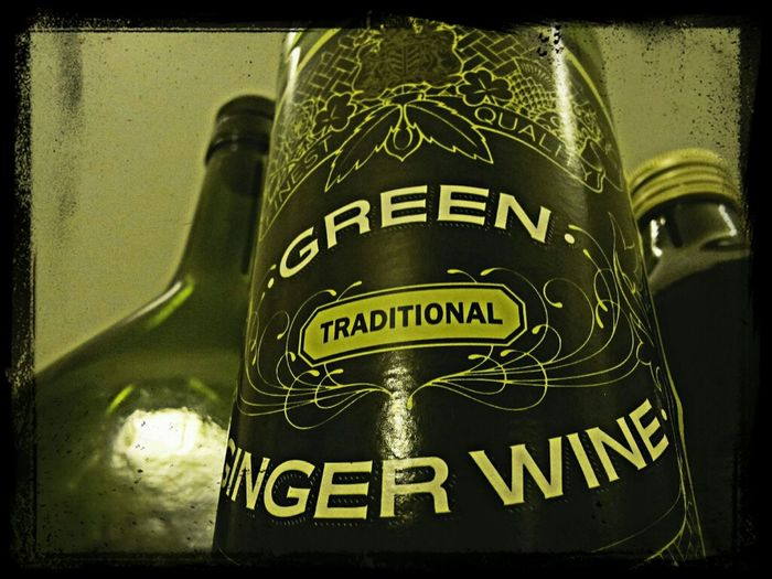 Bottle Glass Eye4photography  Eye4enchanting EE_Daily: Green Thursday Armagnac  Ginger Wine