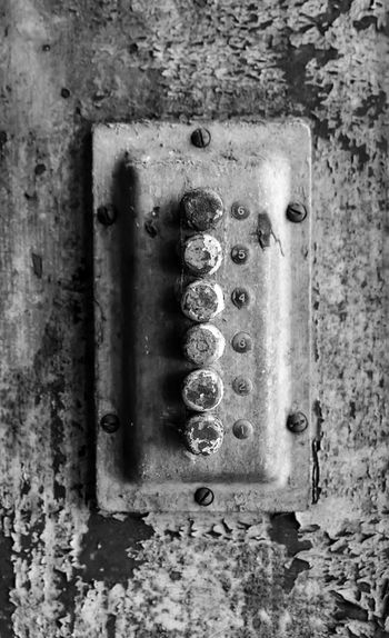 Abandoned grain silo and mill Bradley Olson Bradleywarren Photography Backgrounds Background Vintage Vintage Style Old Old-fashioned Old Buildings Old Ruin Abandoned Abandoned Places Abandoned & Derelict Abandoned Buildings Copy Space Copyspace Room For Text No People The Way Forward Wall - Building Feature Weathered Metal Close-up Obsolete Indoors  Damaged Run-down Dirty Textured  Connection Decline Dirt Deterioration Day Architecture Push Button Button Switch Light Switch