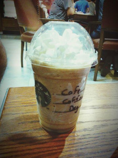 Coffee Frappuccino Friendly Rivalry Collaboration Ccd Starbucks