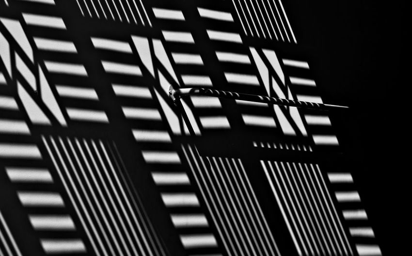 Architecture Backgrounds Black And White Building Exterior Built Structure Close-up Day High Contrast Bnw High Contrast Image Light And Shadow Light And Shadow On The Wall Lines And Shapes Low Angle View No People Outdoors Pattern Patterns And Shapes Black & White Friday