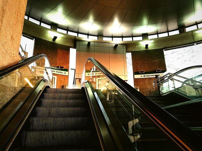 Subway Staircase Subway Station