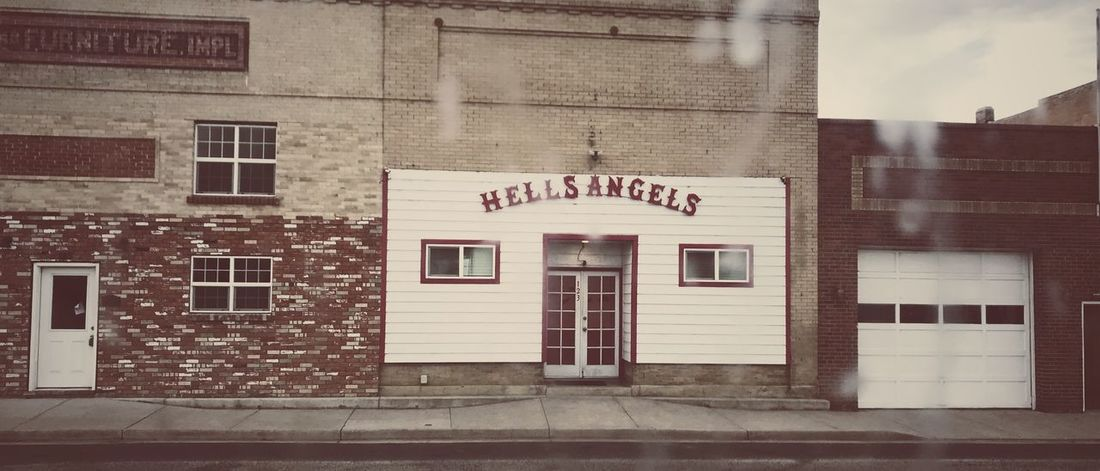 Building Exterior EyeEm EyeEm Gallery Popular Photos Eye4photography  Architecture Built Structure Window No People Outdoors Day City EyeEm Best Shots Cool OutLaw Hells Angels Motorcycle Club