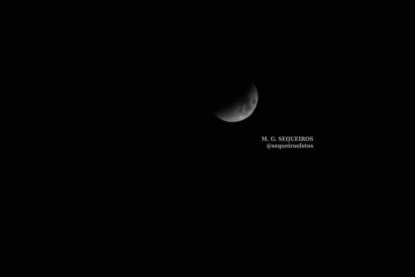 Eclipse lunar Coruña Luna