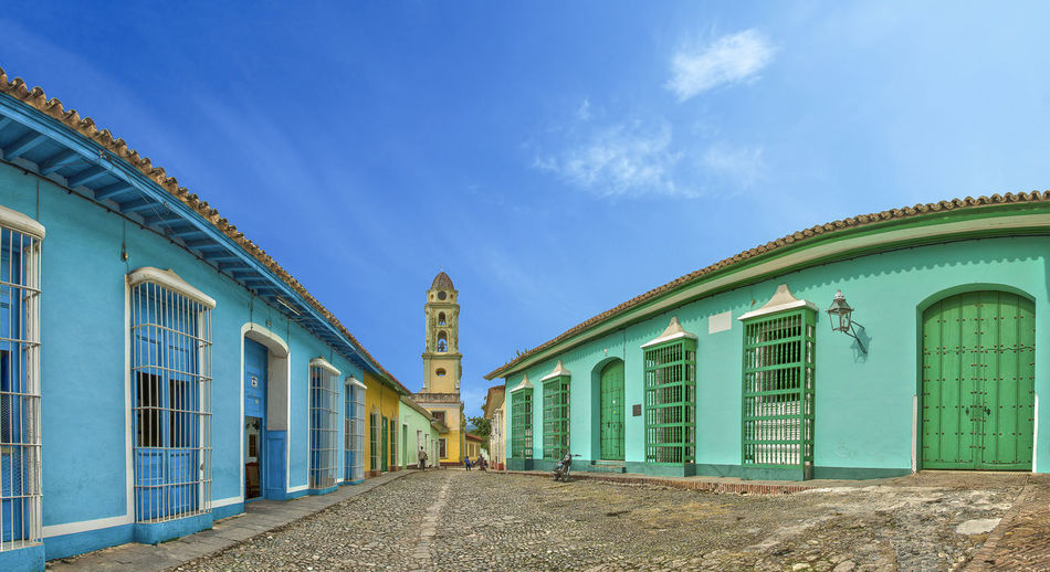 Cuba Trinidad Architecture Building Exterior Built Structure Colonial History Outdoors