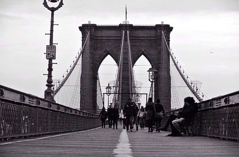 A famous Brooklyn Bridge. The Best Of New York Portrait Of America Just Around The Corner