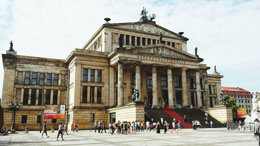 Berlin Photography Architecture History City Travel Destinations Built Structure Building Exterior People Outdoors Sky Day