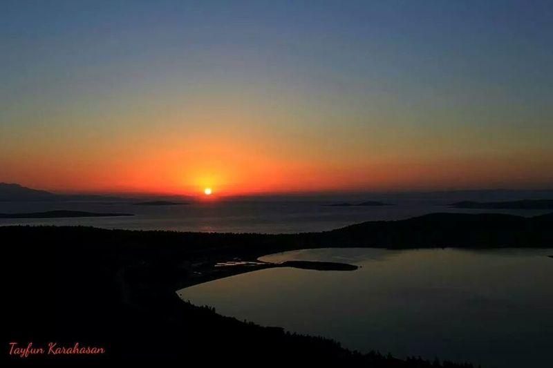 Devil's Place Satan sunset Ayvalik Sunset #sun #clouds #skylovers #sky #nature #beautifulinnature #naturalbeauty #photography #landscape