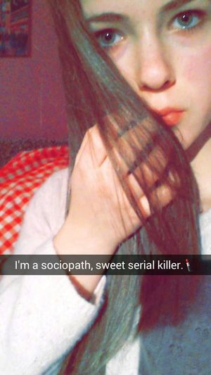 Lana Long Hair Room Lips Warm Eyes Killer Sweet Serial Killer Sociopath Baby