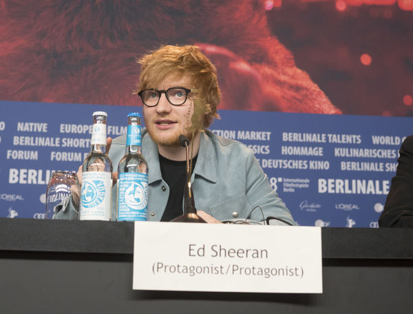 Berlin, Germany - February 23, 2018: English singer, songwriter, guitarist and record producer Ed Sheeran attends the 'Songwriter' press conference at 68th Berlinale Film Festival Berlin 2018 Artist Celebrity Ed Sheeran Ed Sheeran <3 Ed Sheraan❤ Famous Singer  Singer/Song Writer Berlinale Berlinale 2018 Berlinale Festival Berlinale2018 Berlinale68 Celebrities Conference Famous People Front View Looking At Camera Mass Media One Person Portrait Press Conference Singer And Artist Song Writer Waist Up