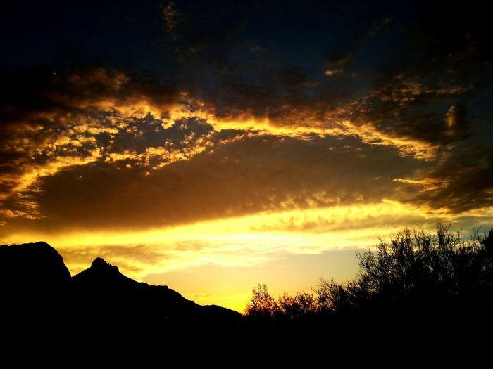 Sunset Sun Clouds Nature First Eyeem Photo