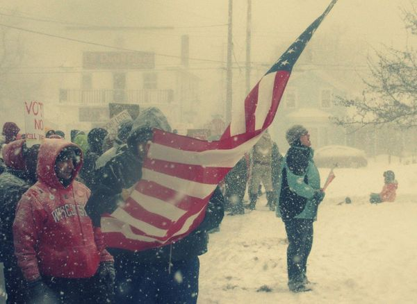 Mike Stouffer People Photoasignment Real People Resist Snow TheSixthLens Winter