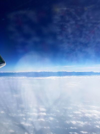 Traveling Home For The Holidays Sky Taiwan Central Mountains On The Plane ✈