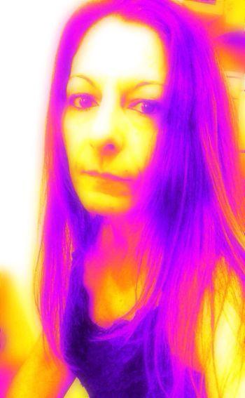 Selfportrait Last Selfie Color Portrait Neon Pink Yellow Bright Eyem Gallery