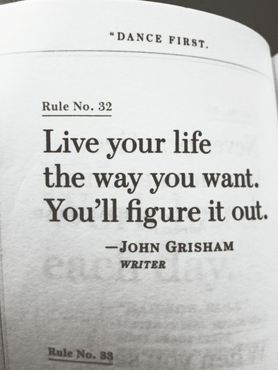 The rule say it.. Quote Of The Day  Enjoying Life