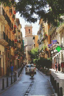 Valencia City Street Streetphotography Building Day