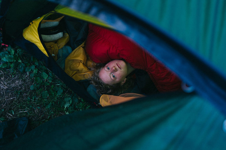 Hilleberg Lying Down Morning One Person Sleeping Tent Waking Up Young Adult The Week On EyeEm Editor's Picks