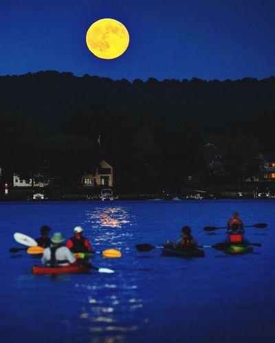 Blue Moon Recreation  Adventure Full Moon Night  Kayaking