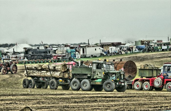 Heavy Haulage Great Day Out Transportation Great Dorset Steam Fair Relaxing Taking Photos