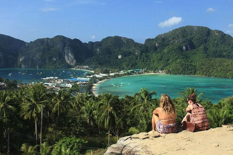 Thailand Sea Travel Tourism Nature Vacations Landscape Mountain Beach Krabi Island PP Island