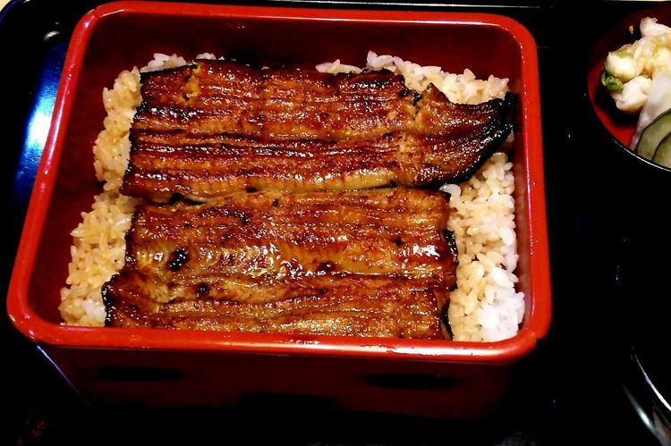 Yammy!!  Japanese Foods Japanese Food Eel うなぎ Tokyo,Japan