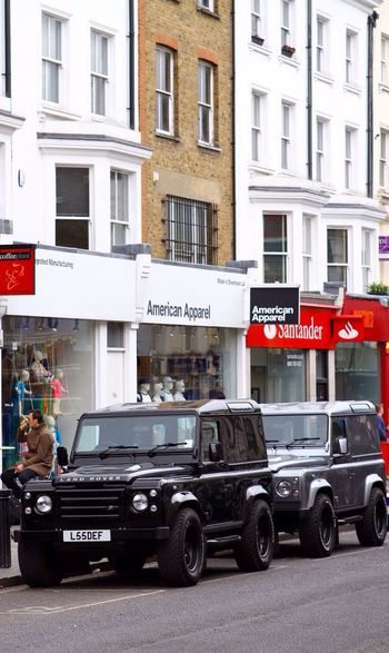 Portobello Market London Land Rover Fashion Cars Luxury Lifestyle Britain