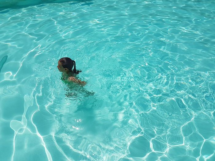 Mobile Photography Swimming Pool Water Day Rippled Outdoors One Person Refraction Nature Concentric People Summer Summer Vibes Summer Views