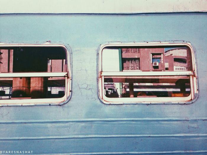 Railway station love Railway Station Mobilephotography Window Outdoors