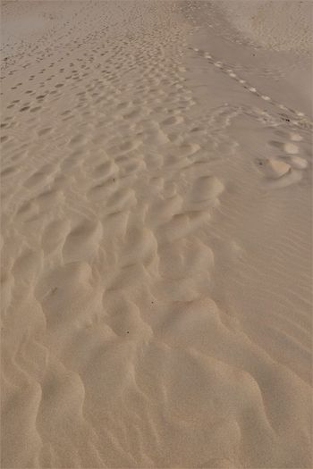 Full frame shot of sand at beach