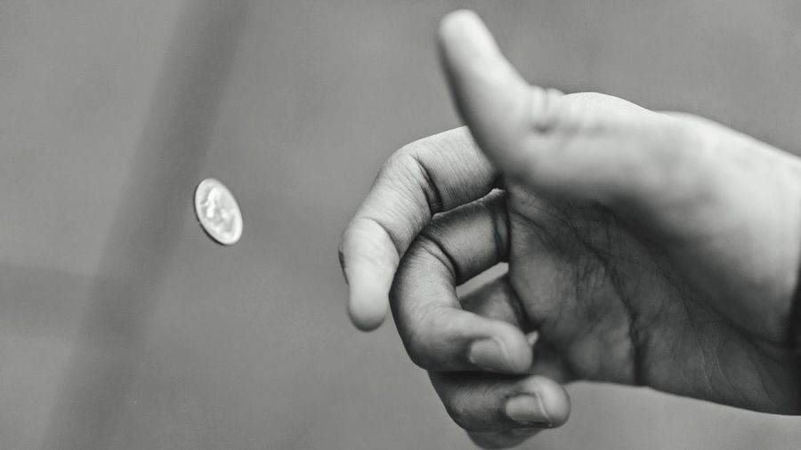 Coin Blackandwhite Black And White Black And White Photography Black & White Black&white Blackandwhite Photography NEM Black&white Hand Fingers