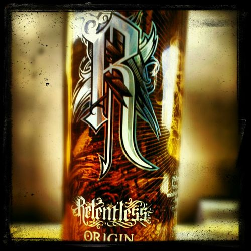 Relentless, Energy Drink, Can