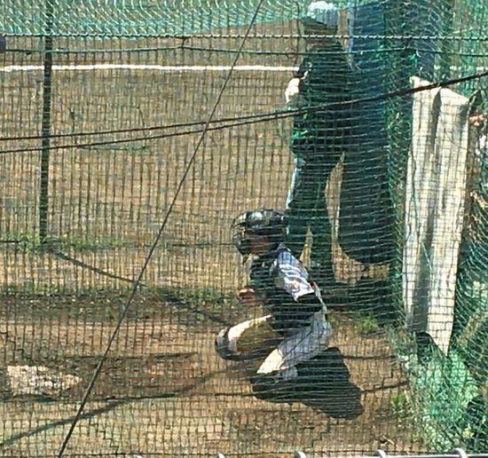 Bullpencatcher Myson Baseball Player Baseball Baseball Is Life Tokyo,Japan 今日は先輩のために。