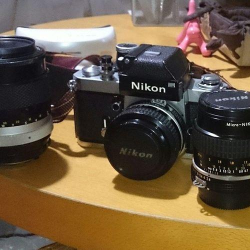 Nikon Nikonf2 フォトミック 50mmf1 .4micro-NIKKOR55mmf2.8NIKKOR-Q.C Auto135mmf2.8フィルムカメラクラシックカメラニコンもらっちゃった最高