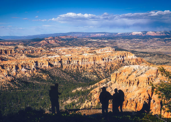 Bryce canyon national park, Utah, USA Hiking National Park Adventure Beauty In Nature Bryce Canyon National Park Cloud - Sky Environment Landscape Leisure Activity Mountain Mountain Range Nature Real People Rock Formation Scenics - Nature Sillouette Sky Be Brave