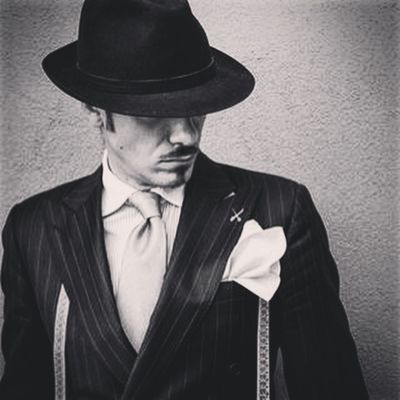 Like a Paint ( Mr Brunati The italian dandy ) Dandy Dapper Gentlemen Fashion Tailoring