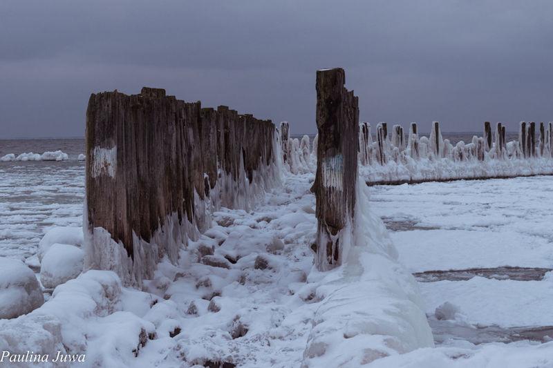 Wintertime Winter Gdynia Torpedownia Trojmiasto Poland Sea EyeEmNewHere