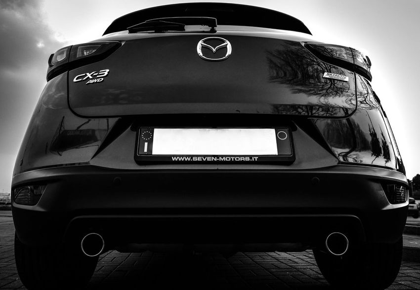 Mazda CX-3 Blackandwhite Car Close-up Cx3 Day Italy Japan Land Vehicle Mazda No People Outdoors Sky Transportation