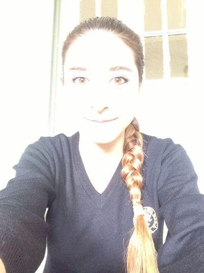 ✨ At School Light Ponytail Brown Eyes
