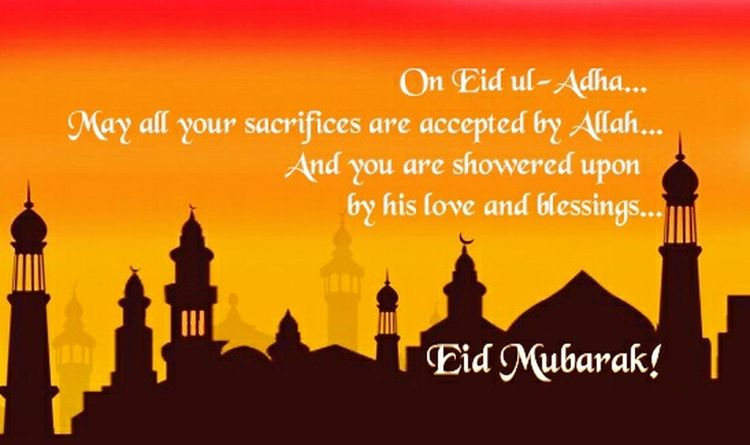 Wishing Muslims round the globe, a very happy Eid Eid Mubarak 2016