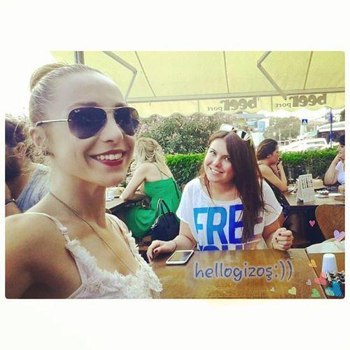 @hellogizemm 'im gelmiş hoş gelmiş :) Selfie özçekim Eniyiarkadas Ikiçiftmuhabbet beşiktaş turkey Türkiye istanbul