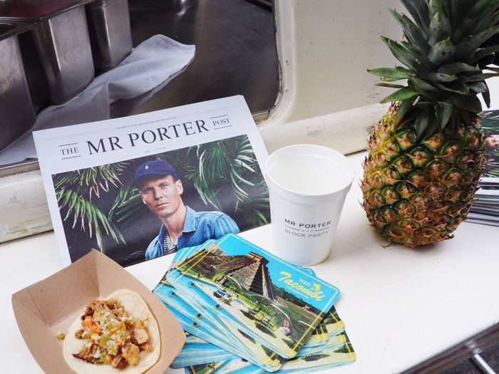 Block Party essentials from MR PORTER Mrporter Mrporterblockparty Summer New York New York City