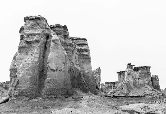 Star Vally in Qeshm Island, Iran Blackandwhite Photography Clear Sky Low Angle View Nature Qeshm Island Rock - Object Rock Formation Star Vally Tourism Travel Destinations