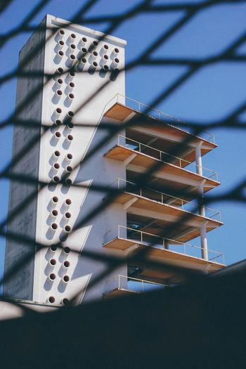 Bordeaux Architecture Built Structure Day Lecorbusier No People Sunlight
