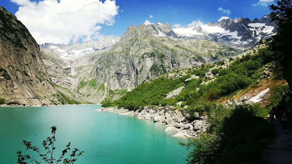 Water Mountain Tranquil Scene Swiss Mountains Swiss Alps Myswitzerland Switzerland Lake Switzerlandalps Switzerlandpictures Switzerland Outdoors Beauty In Nature Nature Lake Sky Photo Photography