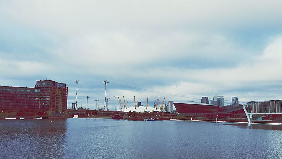 Over the water... Docklands London The02Arena
