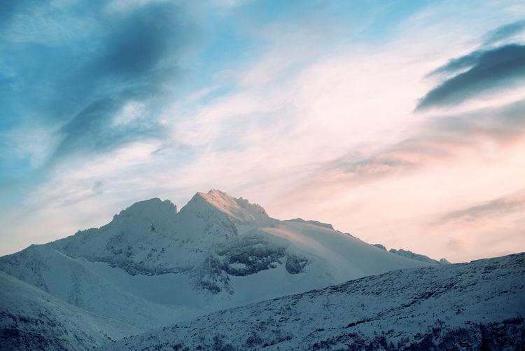 The peak of