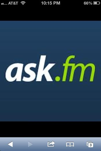 @ Ask.fm/tooflyobeid.     Ask Away!!!